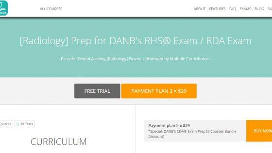 Prep for DANB's RHS Exam