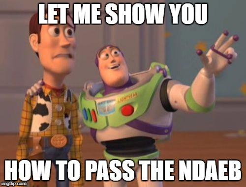 how to pass the NDAEB Canada exam
